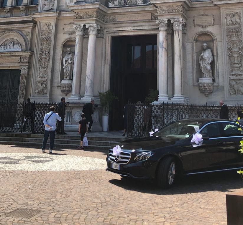 Auto matrimonio Pavia Lodi Milano